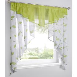 Kleinfenster mit Blätter Druck