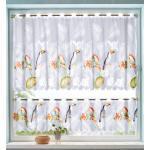 Kleinfensterset 'Papugi' 2tlg. Webschatz bunt