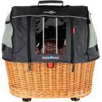 KLICKfix Hunde-Fahrradkorb Doggy Basket Plus Fix braun, Maße: ca. 52 x 36 x 45 cm