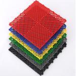Klickfliesen offen 395 x 395 x 18 mm - Kunststoff Bodenfliese mit offener Struktur