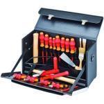 Knipex Lehrlingskoffer VDE Ledertasche - 002103LS