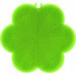 Kochblume Topflappen »SWISCH Silikonschwamm & Fusselbürste, grün«