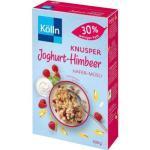 Kölln Müsli Knusper Joghurt Himbeer, 30% weniger Fett, 500g