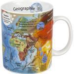 Könitz Kaffeebecher Geographie bunt