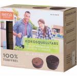 Kokos-Quelltabletten (Kokosquelltöpfe) / 10 Stück