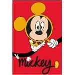 Komar Disney Edition 4 Poster Mickey Mouse Magnifying Glass (50 x 70 cm, Vlies)