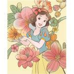 Komar Disney Edition 4 Poster Snow White Flowers (50 x 70 cm, Vlies)