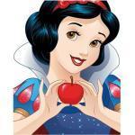 Komar Disney Edition 4 Poster Snow White Portrait (50 x 70 cm, Vlies)