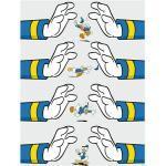 Komar Disney Edition 4 Wandbild Donald Duck Hands (50 x 70 cm, Vlies)
