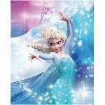 Komar Disney Edition 4 Wandbild Frozen Elsa Action (50 x 70 cm, Vlies)