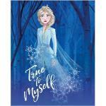 Komar Disney Edition 4 Wandbild Frozen Elsa True To Myself (50 x 70 cm, Vlies)