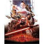 Komar Star Wars Wandbild Movie Poster Rey (50 x 70 cm, Vlies)