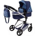 Kombi-Puppenwagen Vario, blau