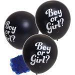 Schwarze Buttinette Konfetti Ballons