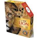 Konturenpuzzle »Löwe«, 550 Puzzleteile