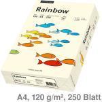 Kopierpapier A4 Rainbow hellchamois 120 g/m² 250Bl.