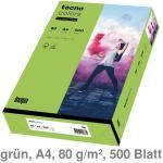 Kopierpapier A4 Tecno Colors / Rainbow grün 80 g/m² 500Bl.