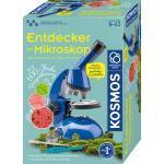 KOSMOS Entdecker-Mikroskop Experimentierkasten, Mehrfarbig