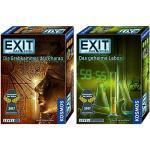 KOSMOS EXIT 2er Set 692698 692742 Die Grabkammer des Pharao + Das geheime Labor