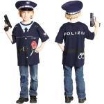 Blaue Polizei-Kostüme für Kinder