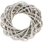 Kranz Willow Weiß, 25x25x8 cm