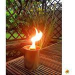 Krause & Sohn Partyfeuer - Gartenfackel 5 Std. Brennzeit als Flammenschale auch zum Anzünden von Fackeln … (1)