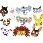 Kreativset Kindermasken 6 Motive