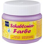 Kreul 74311 - Schablonierfarbe Flieder, 150 ml