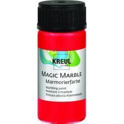Kreul Magic Marble Marmorierfarbe rot, 20 ml (GLO663151867)