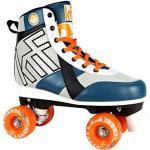 KRF Kinder Street Rollschuhe, Roller Figure Quad, Green, 40
