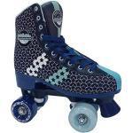 KRF Special Boys Rollschuhe Quads, Retro Style Unisex Kinder, Blau, 38