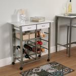 Küchenwagen mit Kunststoffplatte