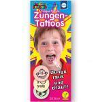 Küchle Knabber-Esspapier Zungen Tattoos 20er