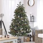 Künstlicher Weihnachtsbaum in Grün mit Ständer Huxley