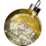 Kugelglanz, rot, 30cm, ,Sompex Dekoleuchte Ornament Weihnachtskugel Christbaumkugel LED-Lichterkette