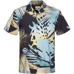 Marineblaue Kurzärmelige edc Hawaiihemden