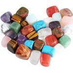 KYEYGWO 1 lb Trommelsteine Edelstein für Wicca, Reiki, Heilkristall, unregelmäßige Steine (ca. 460 Gramm)