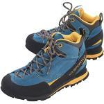 LA SPORTIVA Unisex-Erwachsene Boulder X Mid Trekking- & Wanderstiefel, Mehrfarbig (Blue/Yellow 000), 39.5 EU