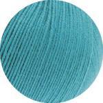 LANA GROSSA »Cool Wool Baby« Häkelwolle, (50 Gramm), extrafeine Babywolle aus Merino, türkis - 0277