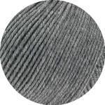 Lana Grossa Cool Wool Big Melange (GOTS) 221 - Dunkelgrau meliert