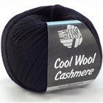 Lana Grossa Cool Wool Cashmere 15 - Schwarz