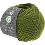 Lana Grossa Cool Wool Melange (GOTS) 113 - Oliv meliert