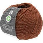 Lana Grossa Cool Wool Melange (GOTS) 116 - Braun meliert