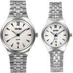 LANCARDO Herren Damen Armbanduhr Analog mit Edelstahl Armband