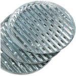 Landmann 3 Aluminium-Grillpfannen rund
