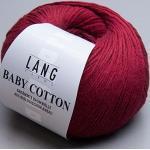 Lang Yarns Baby Cotton 0061 dunkelrot
