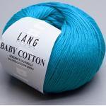 Lang Yarns Baby Cotton, 78 türkis dunkel