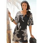 LASCANA Jerseykleid, mit Zierdetail am Ausschnitt TOPSELLER bunt Damen Sommerkleider Kleider Jerseykleid