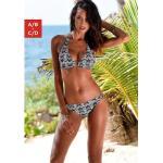 Weiße LASCANA Triangel-Bikinis für Damen Größe M