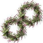 Lavendel-Mix-Kranz Höhe 450 mm, VE 2 Stk Blüten rosa